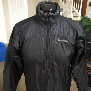 Patagonia down 1/4 zip jacket